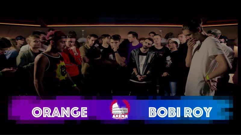 Arena Battle Rap BPM Orange vs Bobi Roy S1E5
