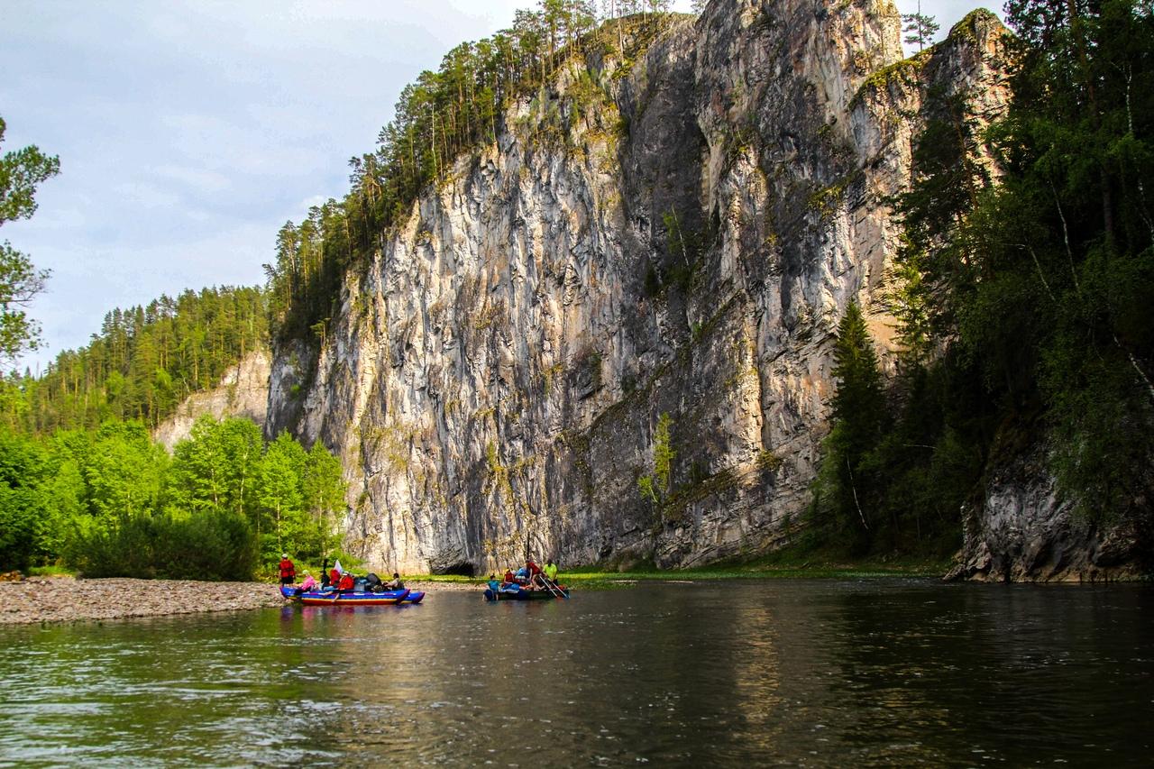 Афиша Уфа 15-16 июня, сплав по реке Зилим