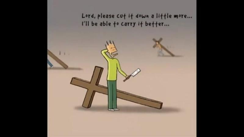 У каждого свой крест и Господь знает для чего он нам дан
