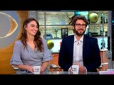 Sara Bareilles and Josh Groban on hosting Tony Awards