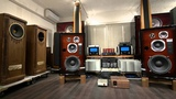 Dream setup!! KRS 4315C speakers driven by E1-KRS with LFPP (Lithium Ferrite Power Plant) #1
