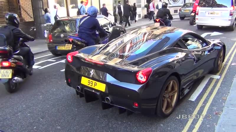 Superbikes and Supercars Loud Sounds in the City
