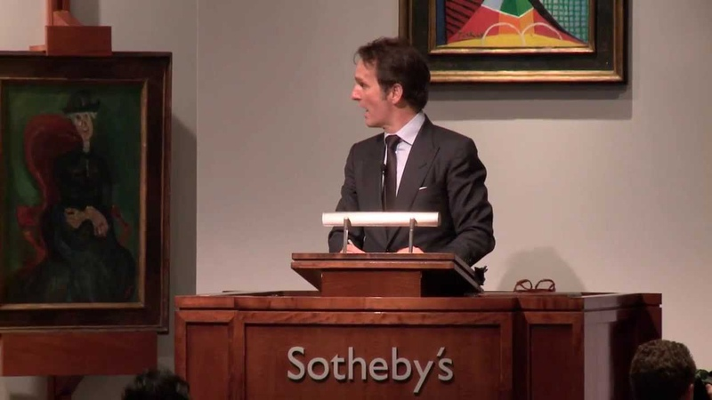 Sotheby's $290 Million Impressionist Modern Art Evening Auction in New York