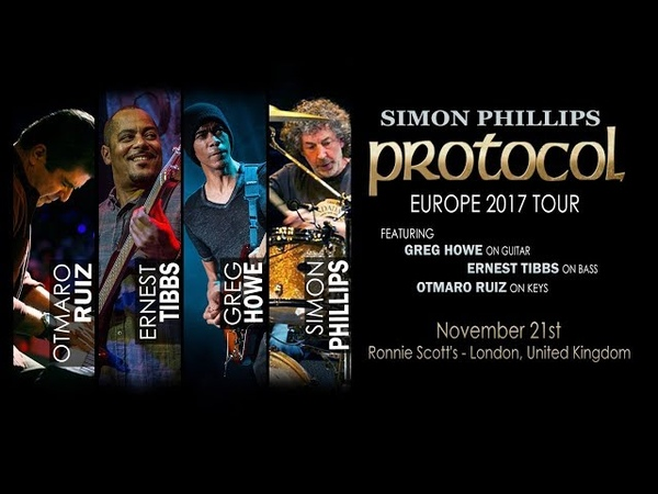 Simon Phillips Protocol IV Live at Ronnie Scott's London 21 11 2017 05