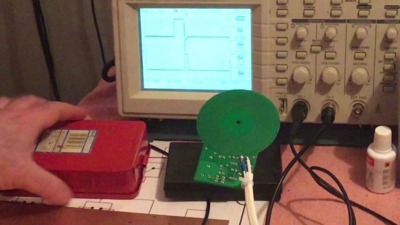 Металлодетектор Surf PI pro чувствительность на куски металла массой менее гр