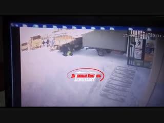 Видео момента смертельного ДТП Танеко 25.01.2019