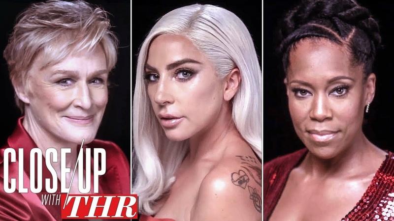Actresses Roundtable: Lady Gaga, Glenn Close, Regina King, Rachel Weisz, Nicole Kidman   Close Up