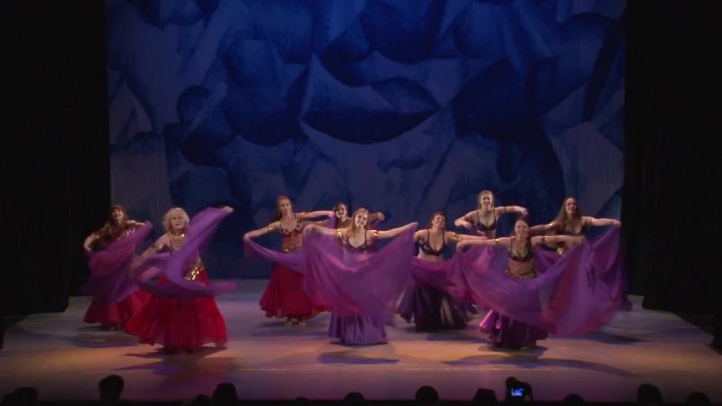 Академия СК Балета. восточный танец. Паруса трепещут