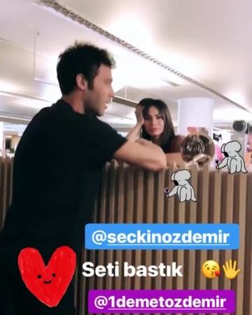 """Demet Özdemir. on Instagram """"demetin yüz ifadesi çok tatlı değilmi yaa😻 ayrıca seçkinlede çok güzeller❤ demetözdemir demetozdemir seçkinözdemir..."""