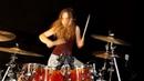Burn (Deep Purple) drum cover by Sina