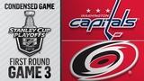 Washington Capitals 05 Carolina Hurricanes Apr.15 2019 Game 3