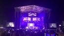 Comienzo del concierto de Ricky Martin en Almería agosto de 2018