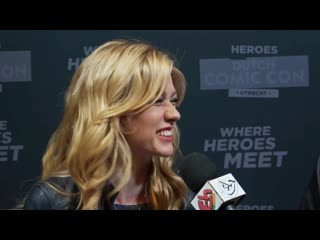 Interview katherine mcnamara _ heroes dutch comic con 2019