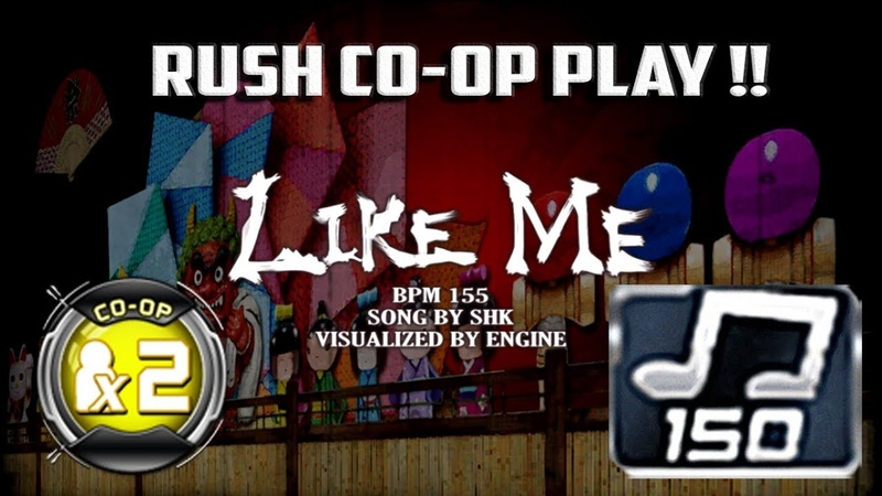 Like Me RUSH 150 CO-OP X2 / Double Performance | RUSH CO-OP PLAY | Live Action Play!!