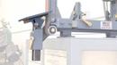 Adjustable belt grinder table