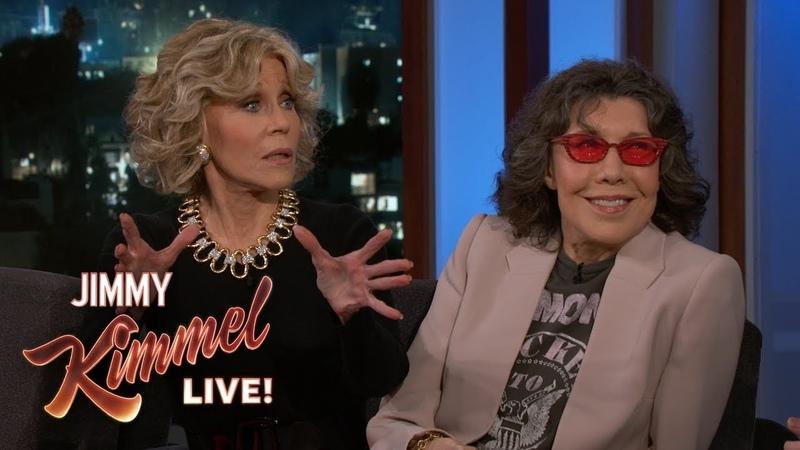 Lily Tomlin Jane Fonda on 'Grace and Frankie' Donald Trump
