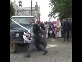 Свадьба Кита Харингтона (Джон Сноу) и Роуз Лесли (одичалая Игритт) Шотландия