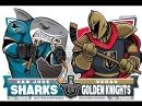 NHL 17-18 SC R2 G4. 02.05.18. VGK - SJS. Евроспорт.