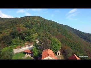 Nekresi Monastery Complex - ნეკრესის მონასტერი - Монастырь Некреси - - DJI Insp_HD(1).mp4