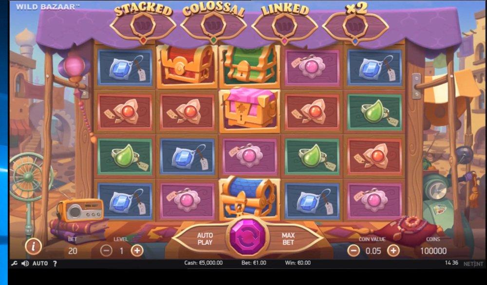 Игровые автоматы Wild Bazaar