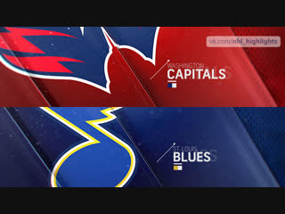 Washington Capitals vs St. Louis Blues Jan 3, 2019 HIGHLIGHTS HD