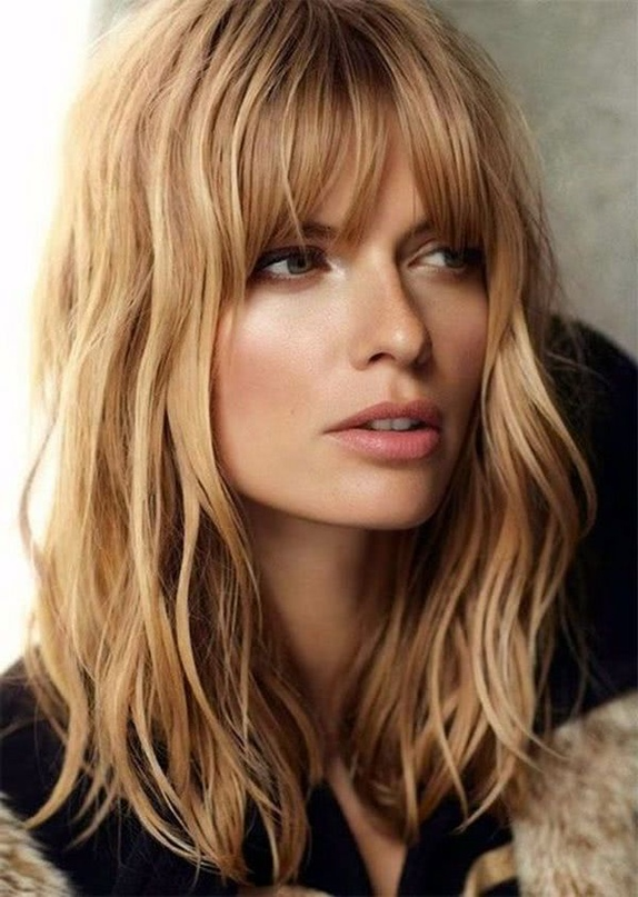 2019 BEAUTIFUL BANGS HAIRSTYLES, WE ALL ADMIRE AND WANT TO HAVE! 3