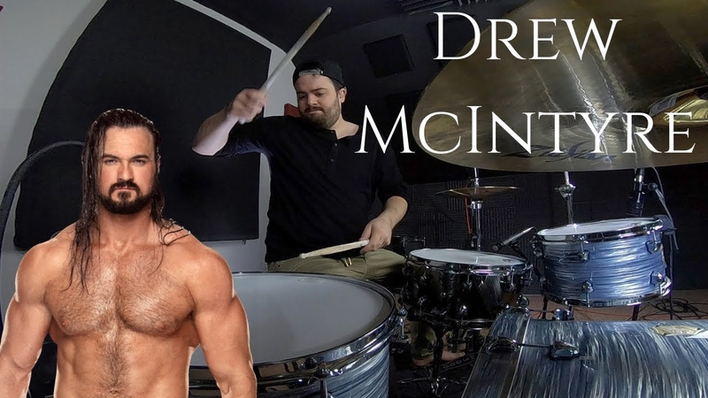 WWE Drew McIntyre Theme Song Gallantry (Defining Moment Remix) Drum Cover