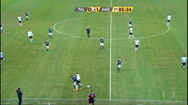 Palmeiras x América MG Copa do Brasil 2018 Oitavas de Final Jogo de Volta