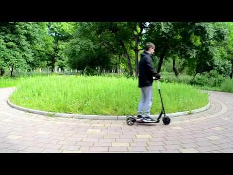 Видео электросамокат kugoo s2