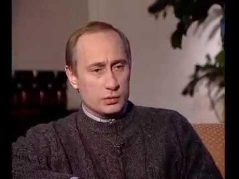 Самое первое интервью Путина каналу ОРТ Путин
