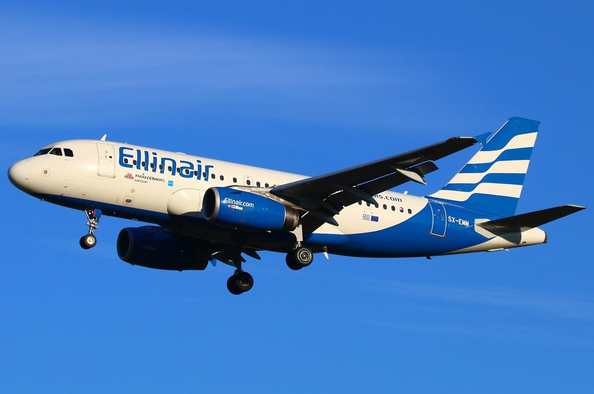 Самолет компании выполняет чартерный рейс