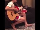 13-летний Круз Бэкхем исполняет кавер на известный сингл Джастина Бибера Love Yourself