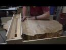 Live Edge Паллетная деревянная плита и кленовое печенье Wall Art