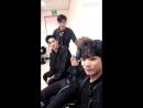 [VIDEO] NU'EST W для Osen за кулисами Inkigayo (05.07.18)