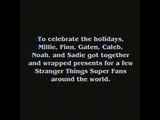 Jennie got a shoutout from Stranger Things holiday video and she will be receiving a gift from them!