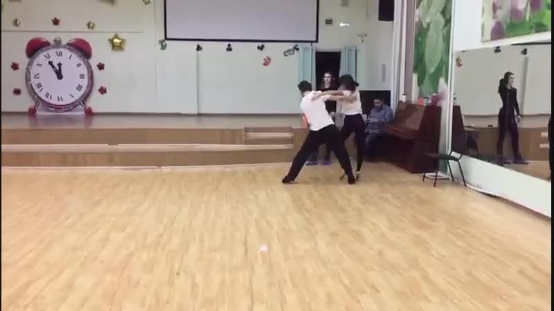 Морин Артём пасодобль