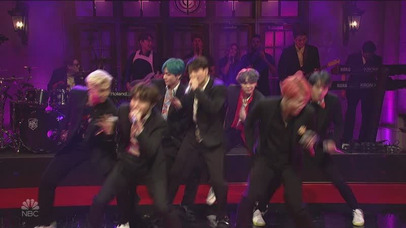 190413 BTS - Boy with Luv - Saturday Night Live (S44E18) 1080i 24Mbps DTS-HD MA 5.1 H.264-ALANiS