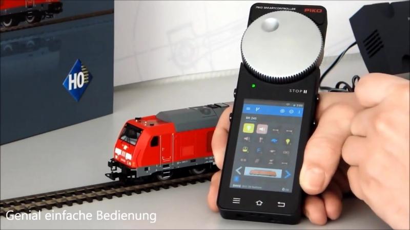 поезд с пультом на android