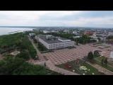Площадь 100-летия Ленина в день последнего звонка