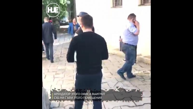 В Москве развернулась рейдерская борьба за офисное помещение