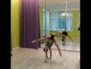 Шестовая акробатика Дети