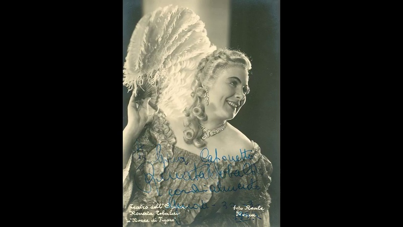 Renata Tebaldi - Recital Roma, 1955