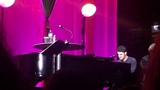 Darren Criss performing Somewhere Only We Know LMDC - Tour London