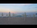Varna beautiful beach in the evening