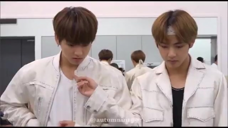 BTS memories of 2017 cuts|Vkook|