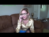 Busty blond babysitter secretary electrocuted and bound by poindexter