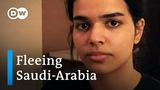 Asylum-seeking Saudi teenager aided by United Nations DW News