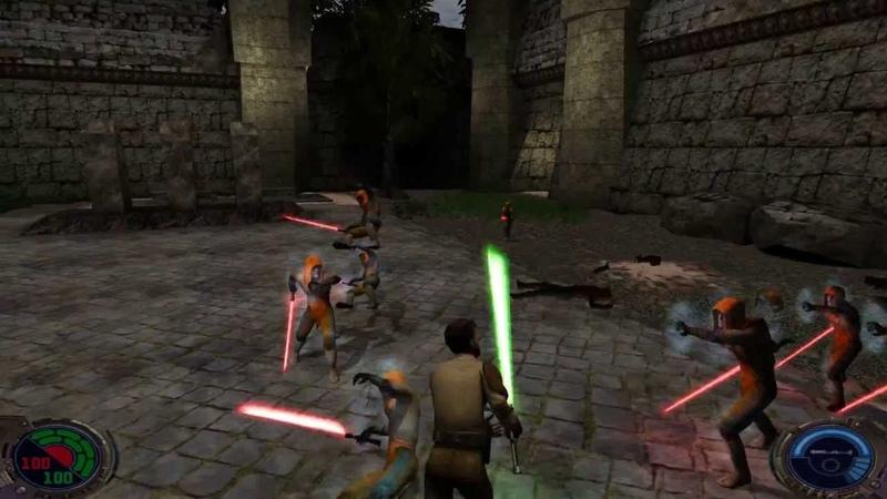 Star Wars Jedi Knight II: Jedi Outcast - Fun with Lightsabers