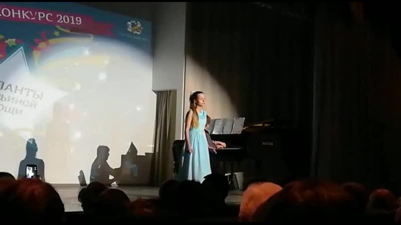 Сазонова Ангелина. Победитель. Гала-концерт 19 03 2019