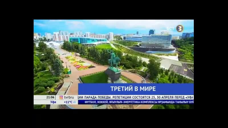 Башкортостан заняла третье место по узнаваемости в мире благодаря ТЭКу, футболу и хоккею